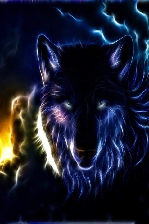 Badass Wolf Wallpapers Wolf hd Wallpapers 480x720