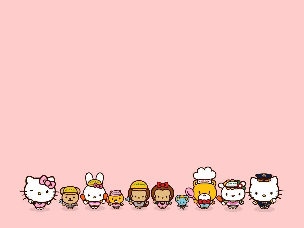 Free Download Backgrounds Hello Kitty 1024x768 For Your Desktop