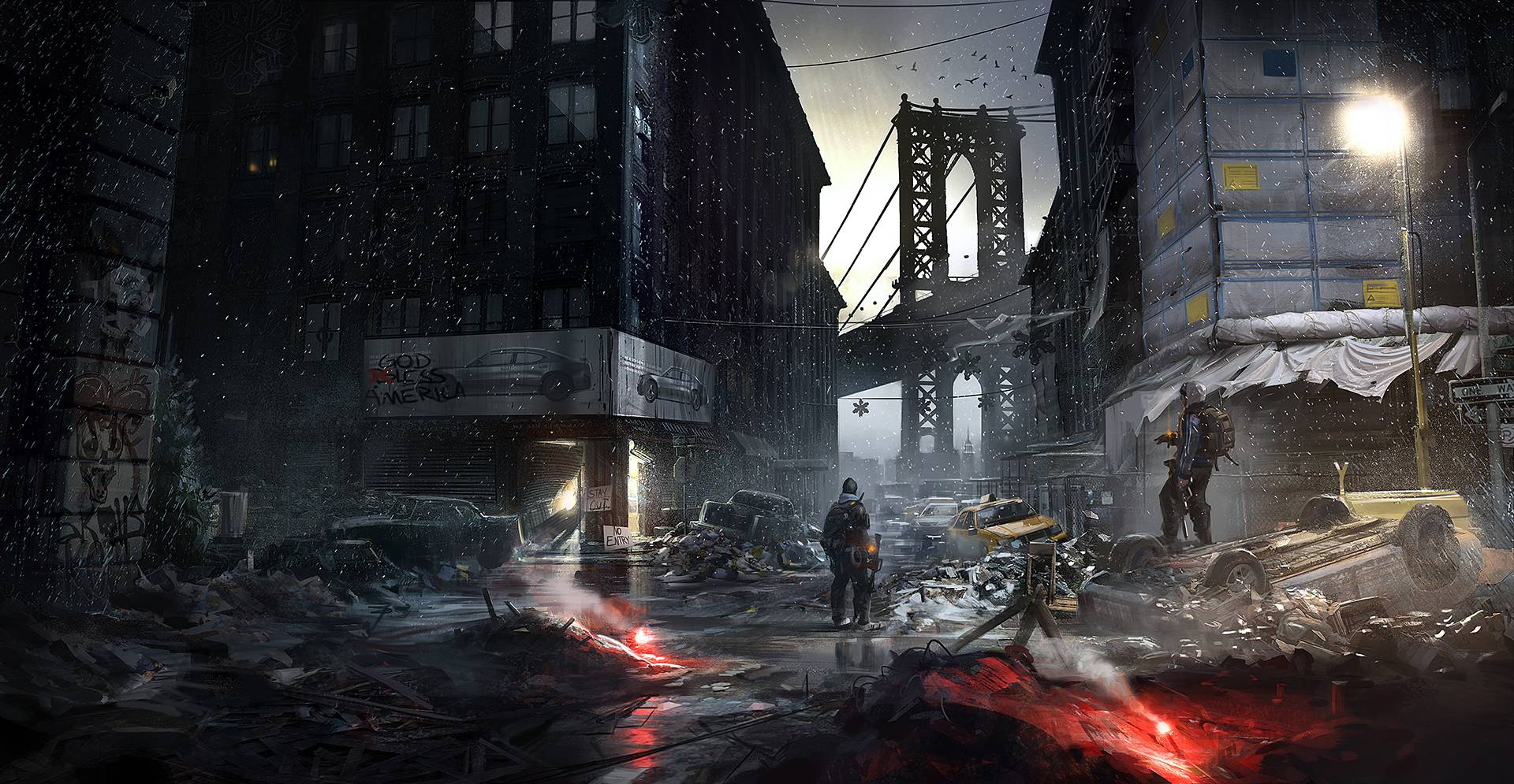 Free download The Division wallpaper 2 [1920x995] for your Desktop