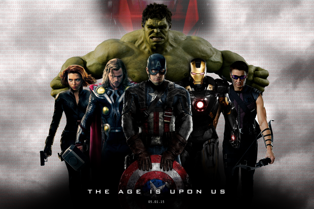 Marvels THE AVENGERS AGE OF ULTRON   BANNER I by MrSteiners on 1024x683