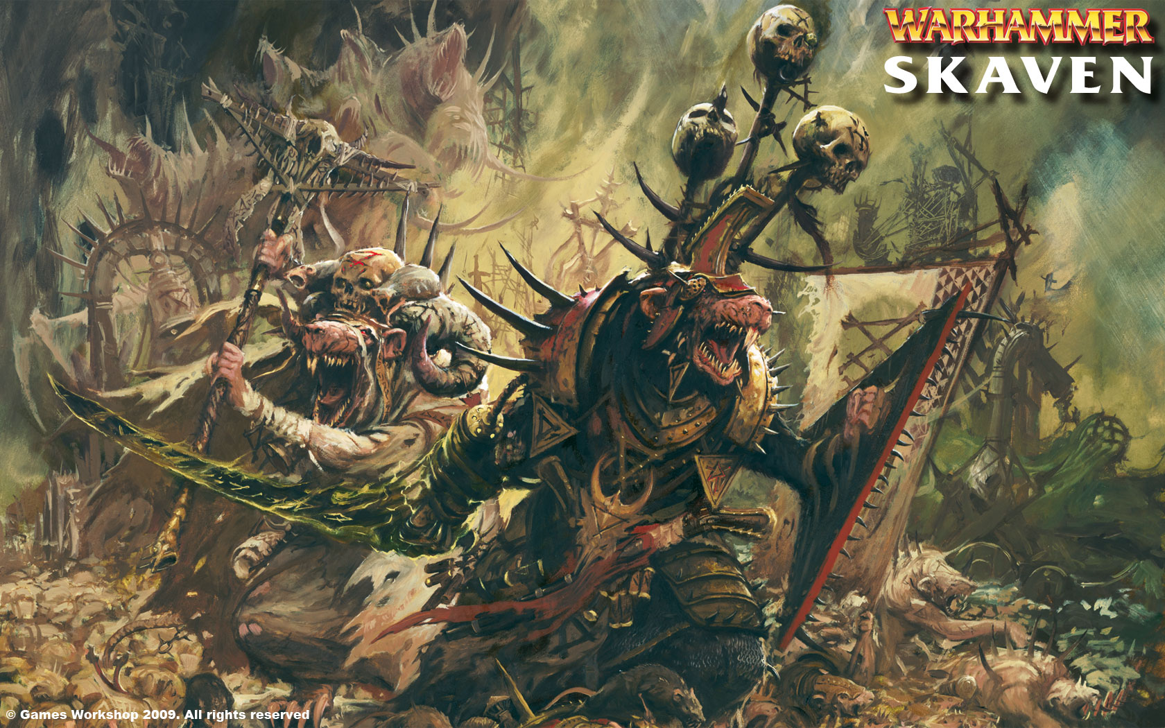43 Skaven Wallpaper On Wallpapersafari