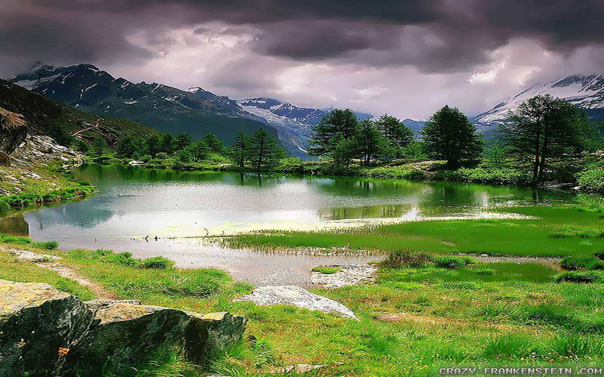 Spring Landscape wallpapers 2   Crazy Frankenstein 1920x1200