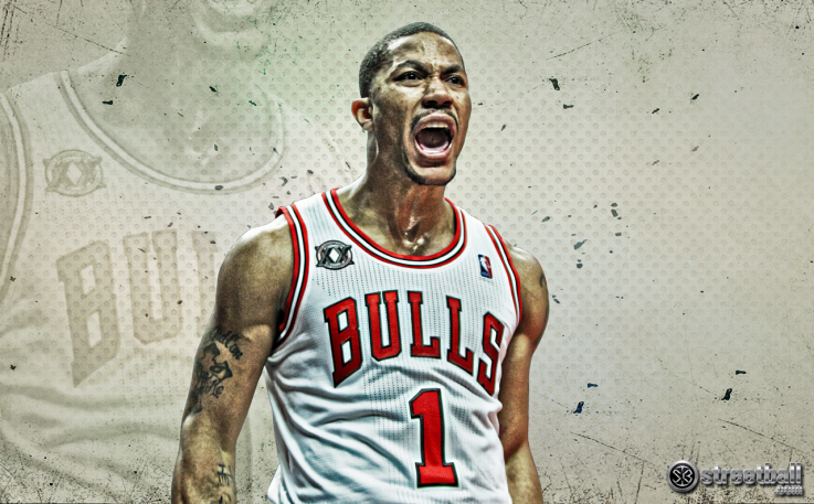 Derrick Rose New 2013 Bulls Wallpaper 737x457