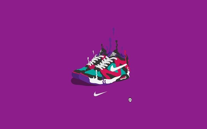 nike sneakers purple background 1920x1200 wallpaper Abstract Purple HD 728x455