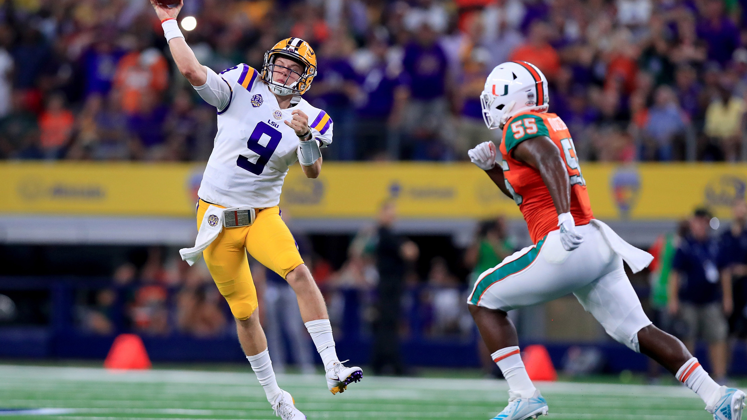 Orgeron Sees More Confidence Production Coming for QB Joe Burrow 2560x1440