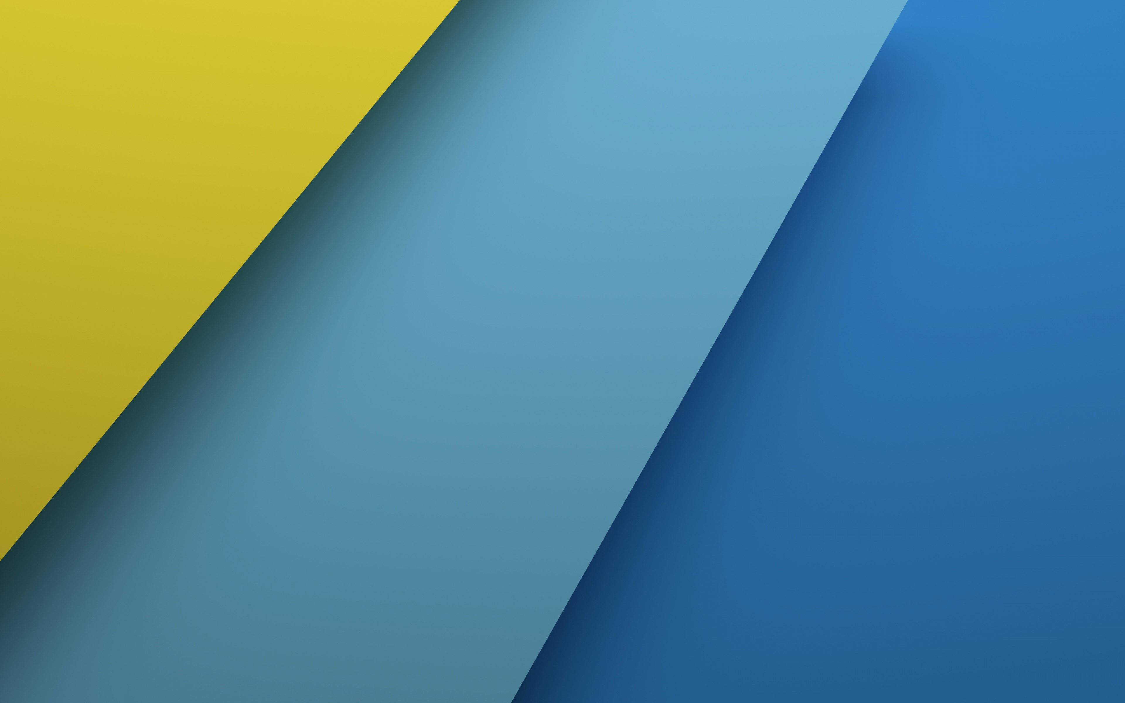 Blue and Yellow Wallpaper - WallpaperSafari