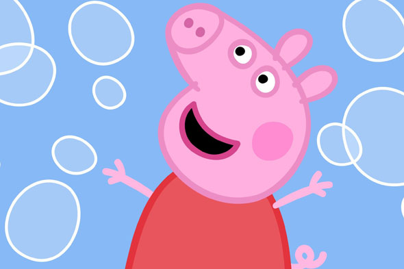 Peppa Pig background Peppa Pig wallpapers 590x393