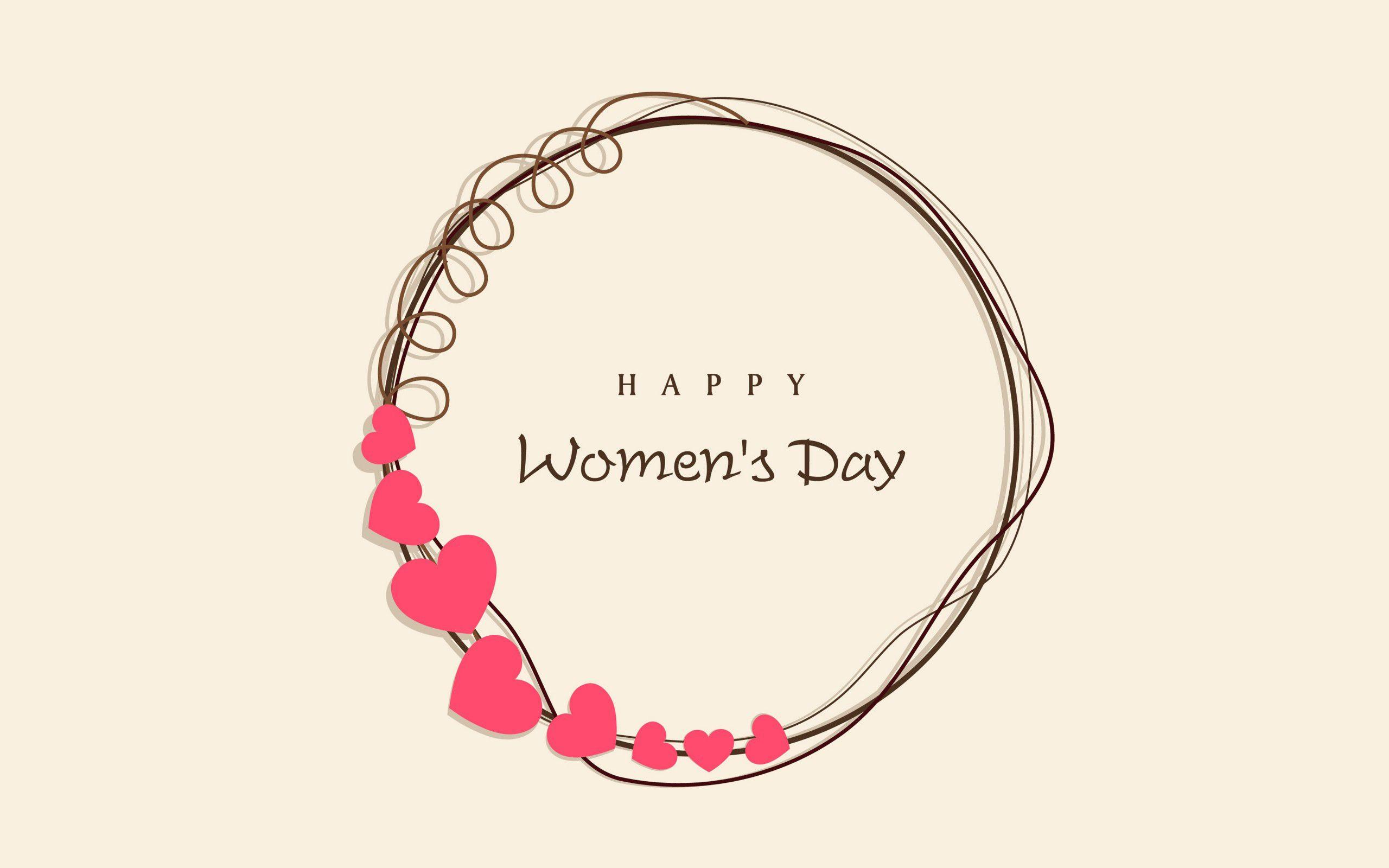Happy Womens Day HD 2017 wallpaperwiki 2560x1600