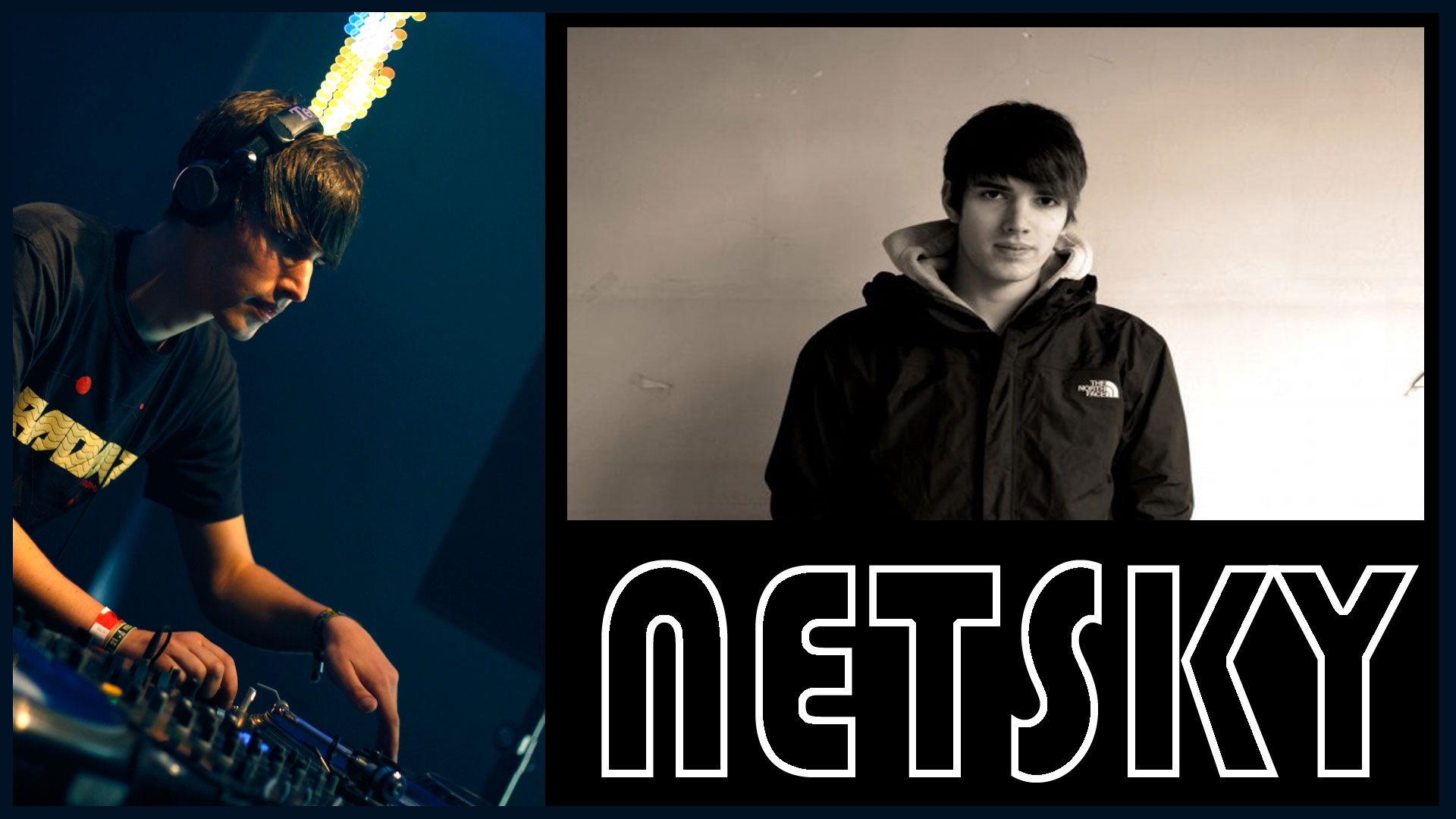 Netsky Man Jacket Console T shirt   Stock Photos Images HD 1920x1080