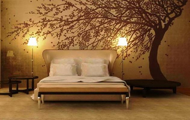 Cool Wallpapers For Home With Abstract Tree Wall Murals