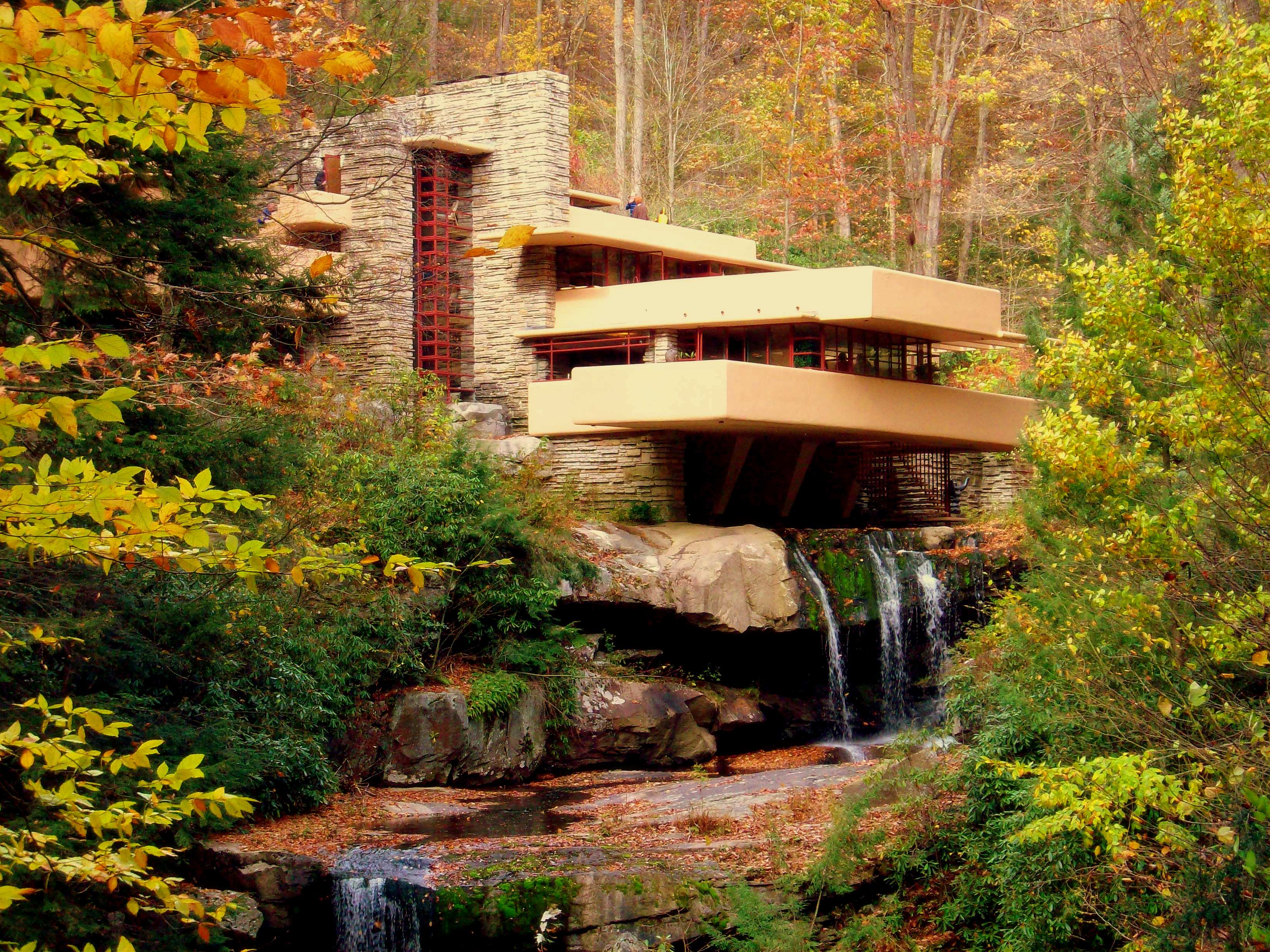 Fallingwater 1937 by Frank Lloyd Wright 3296x2472