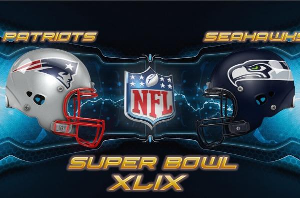 2015 Super Bowl XLIX Official Logo Wallpaper Wide or HD Sports 600x395