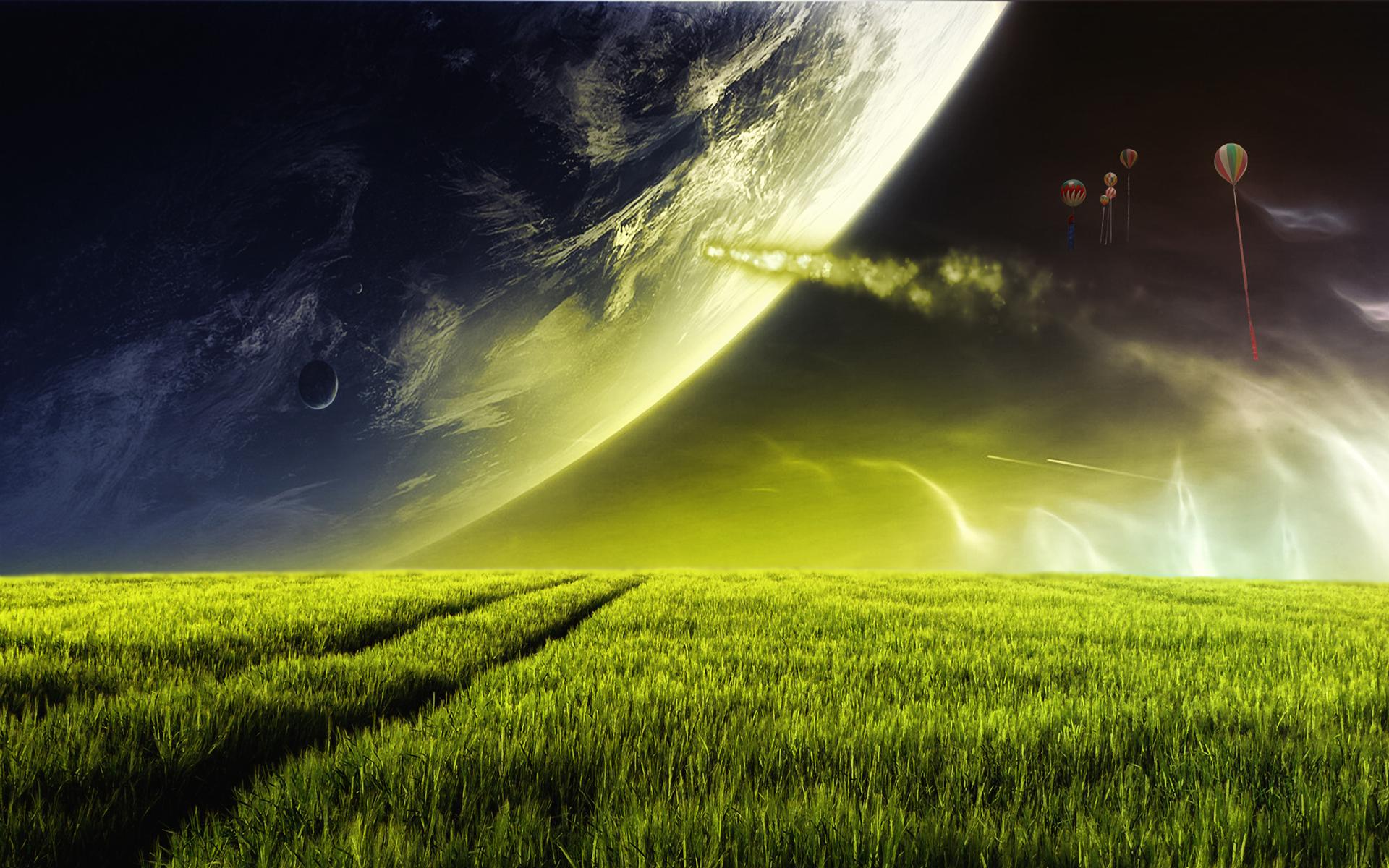 Alien Planet Wallpapers HD Wallpapers 1920x1200