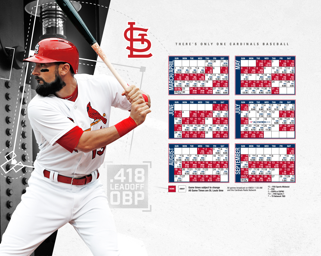 Free Download Desktop Wallpaper St Louis Cardinals 1280x1024 For