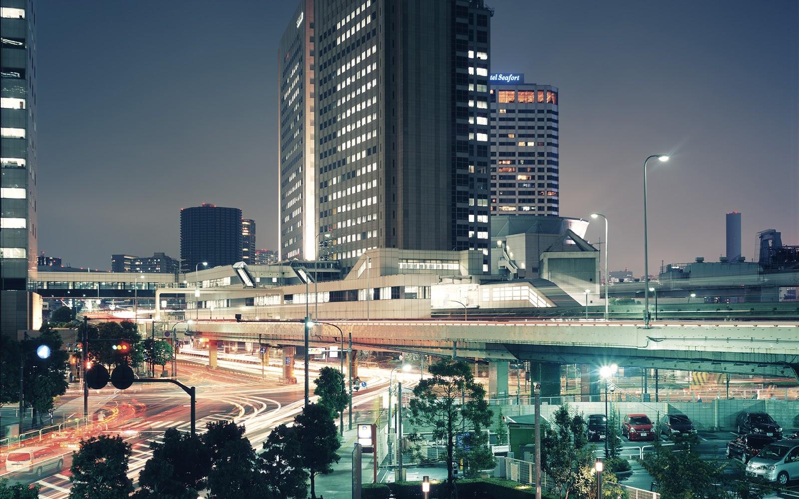 Tokyo at night Mystery Wallpaper 1600x1000