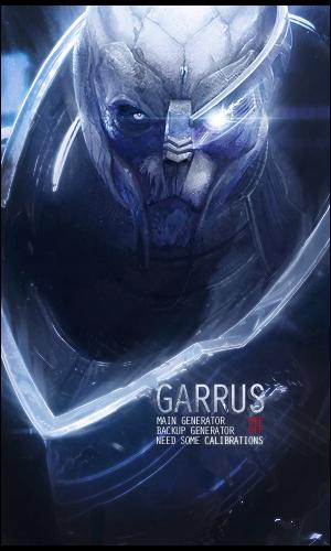 Garrus Vakarian Wallpaper Mass Effect 3 Garrus vakarian mass effect 300x500