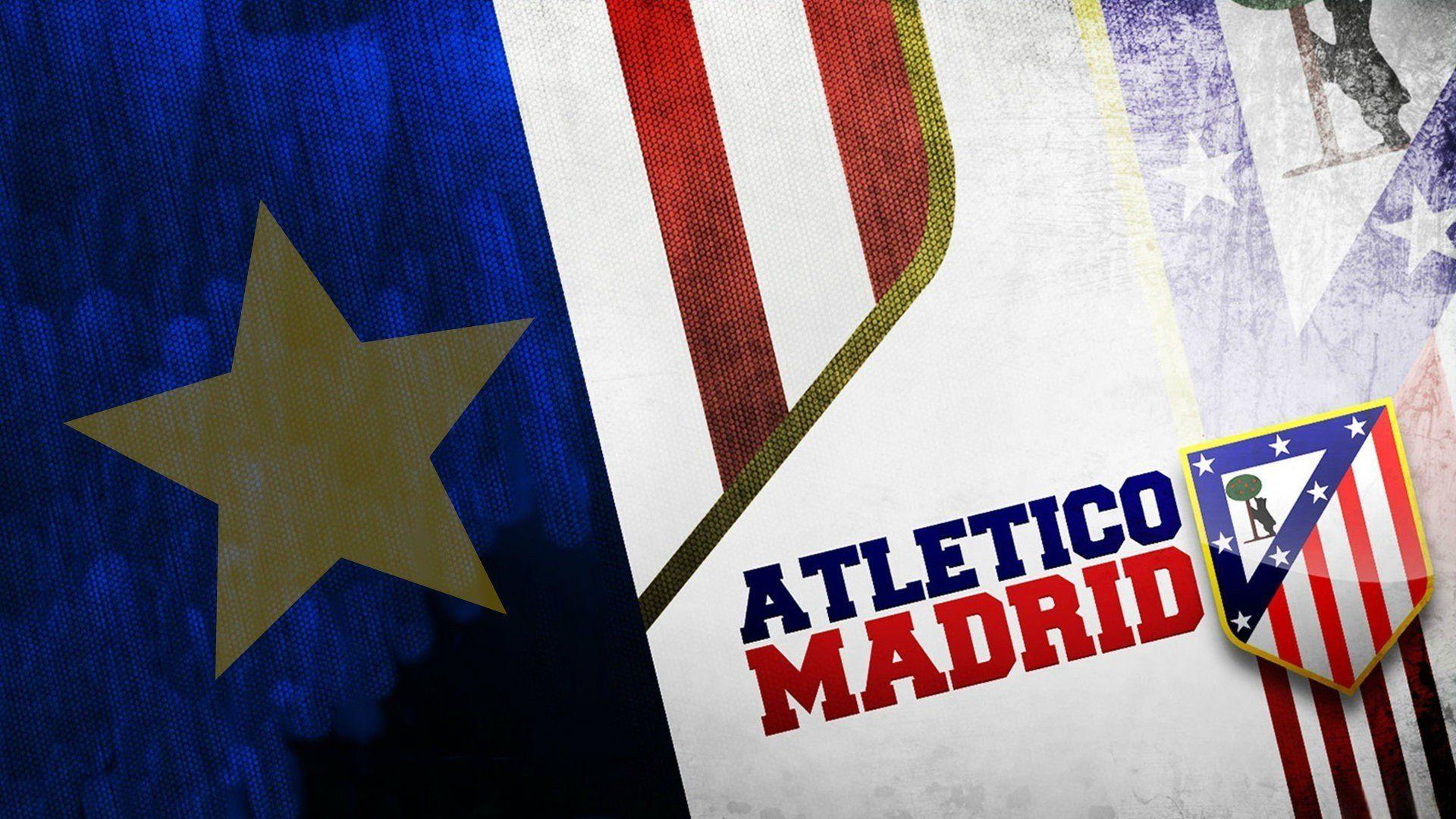 HD Atletico Madrid Logo Wallpaper 1920x1080