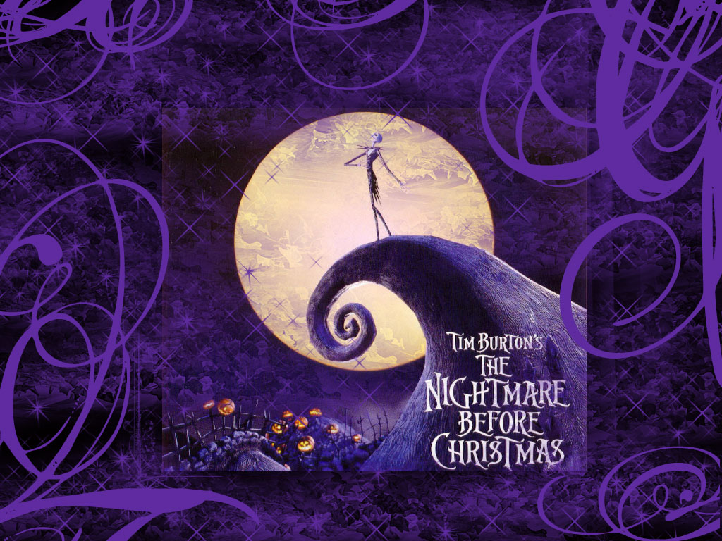 Back Gallery For nightmare before christmas desktop wallpaper 1024x768