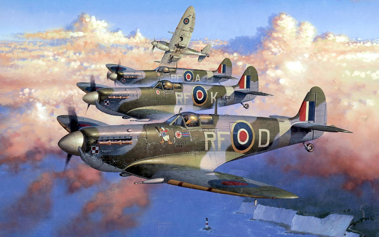 Supermarine Spitfire Wallpapers HD Wallpapers Early 1280x800