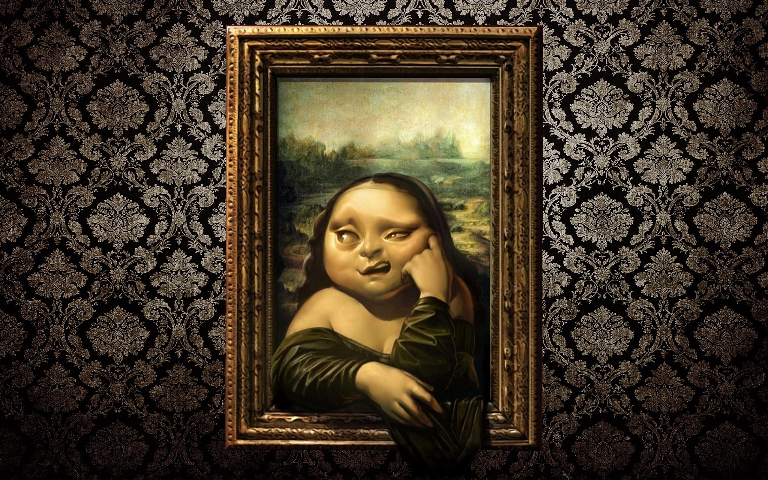 Mona lisa   129072   High Quality and Resolution Wallpapers on 2560x1600