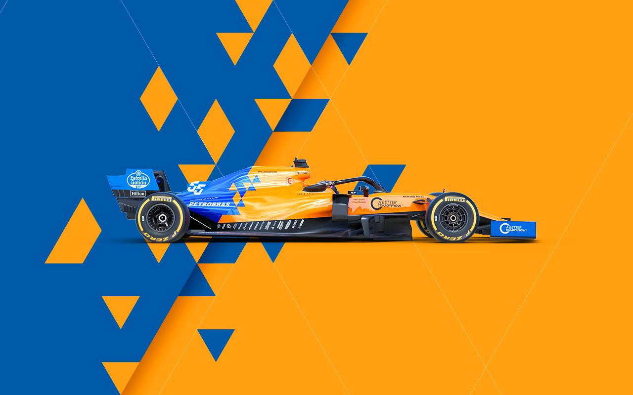 McLaren Racing Official Website 1280x800