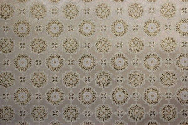 Gold Metallic and Yellow Geometric Vintage Wallpaper   Rosies Vintage 600x400