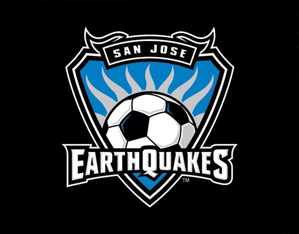 Earthquake Soccer Logo San jose earthquakes image 600x469