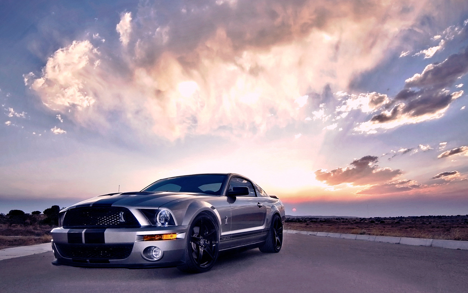 Cars Wallpapers Ford Mustang GT500 Shelby Cobra Cool Wallpaper HD 1920x1200