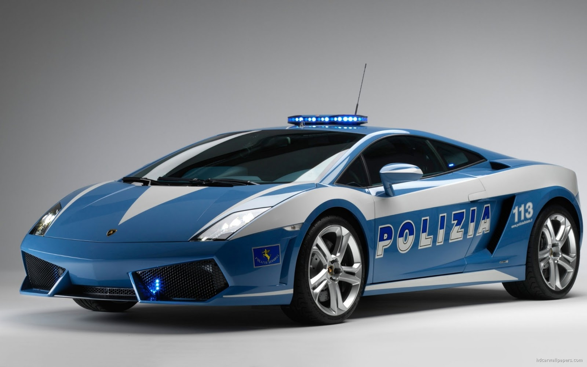 Blue Police Car HD Desktop Wallpaper HD Desktop Wallpaper 1920x1200