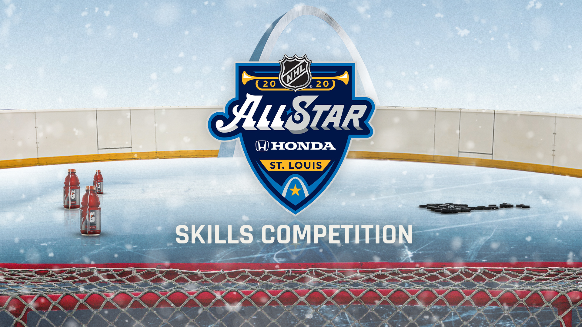 NHL All Star Skills Competition 2020 Start time participants 1920x1080