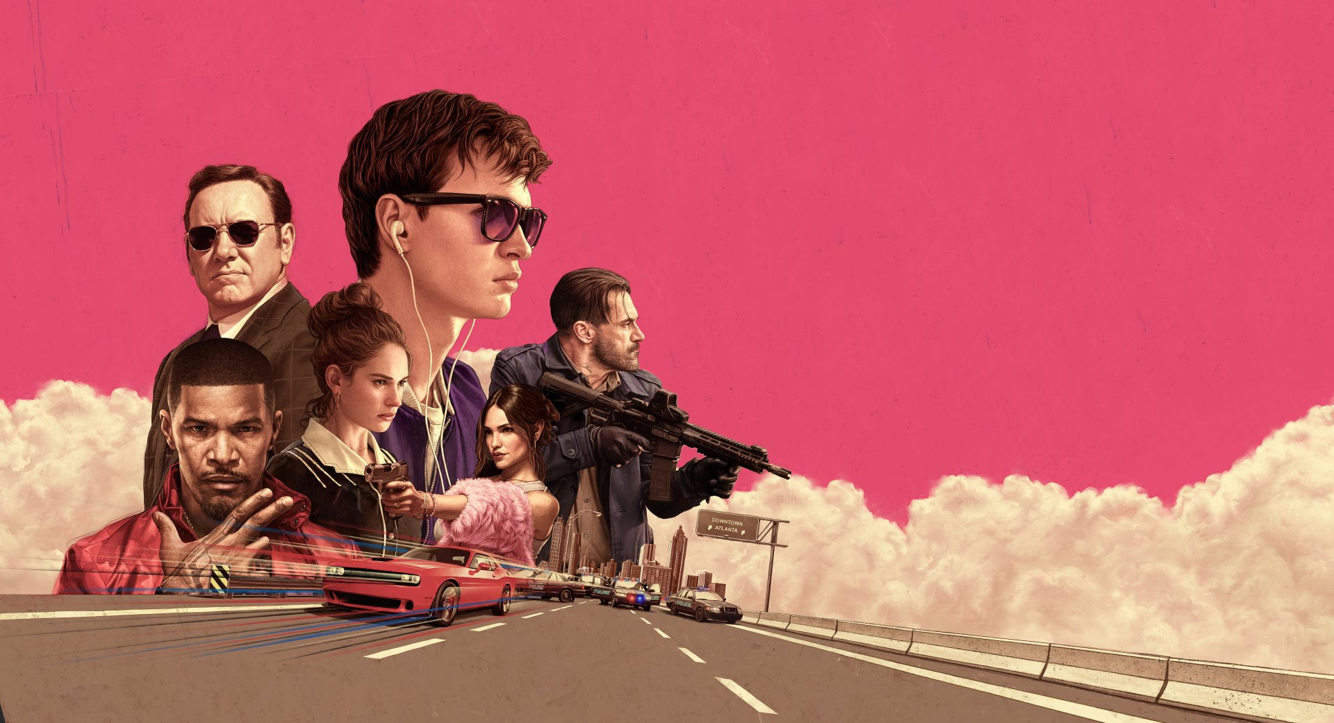 23 Baby Driver HD Wallpapers Background Images 1920x1041