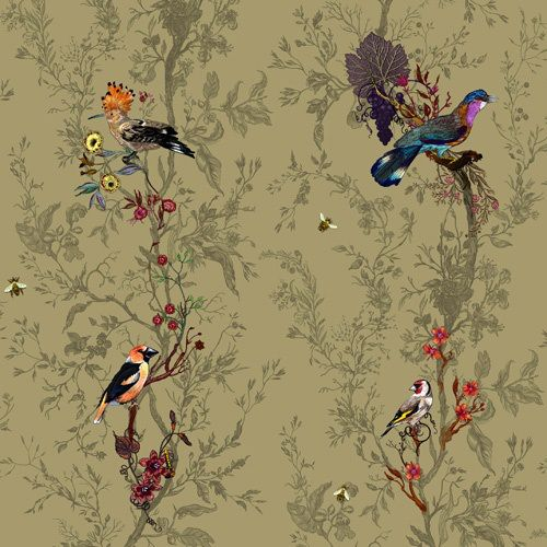 Timorous Beasties wallpaper Chinoiserie Pinterest 500x500
