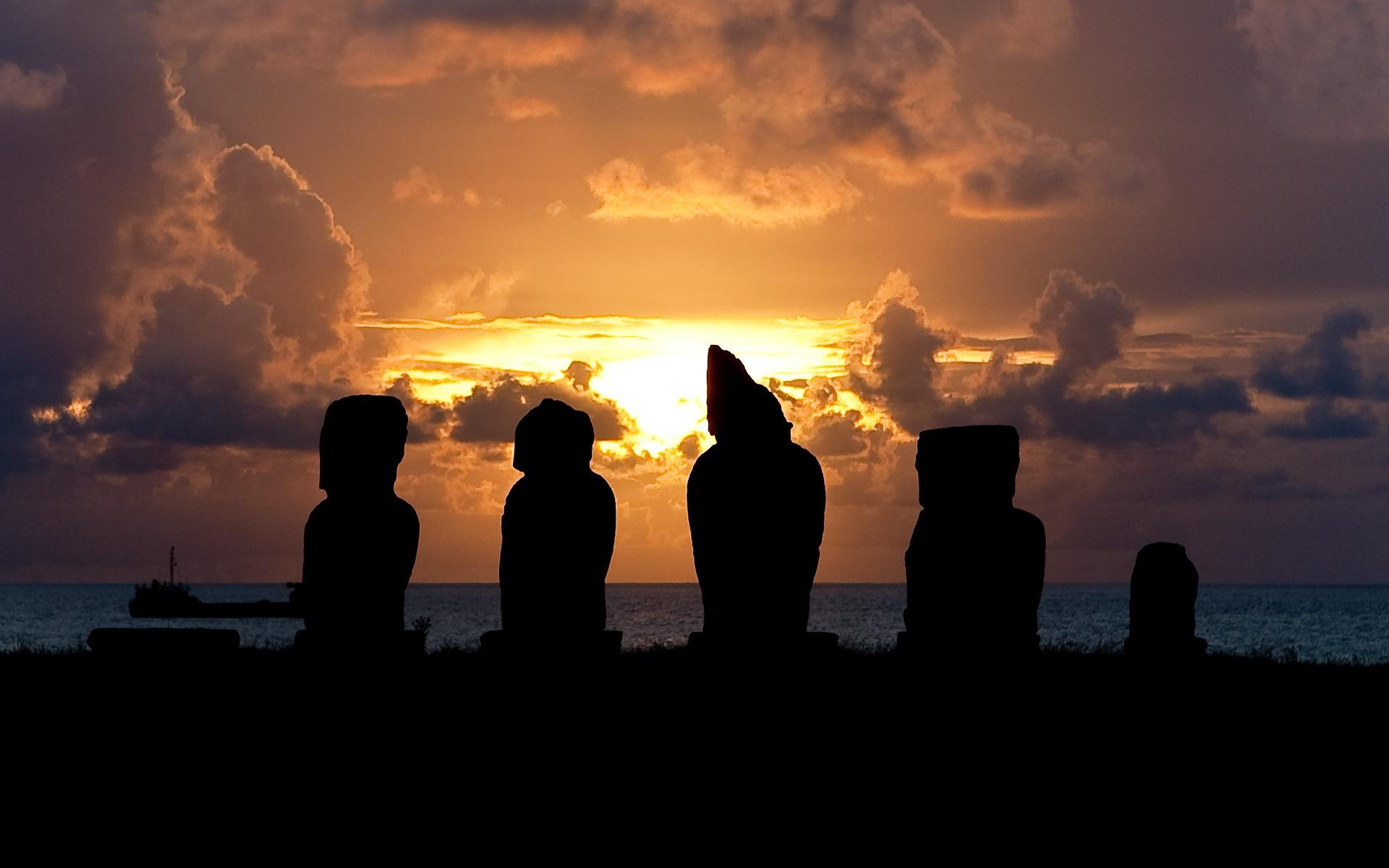 Easter Island Pictures Computer Wallpapers Desktop 1920x1200