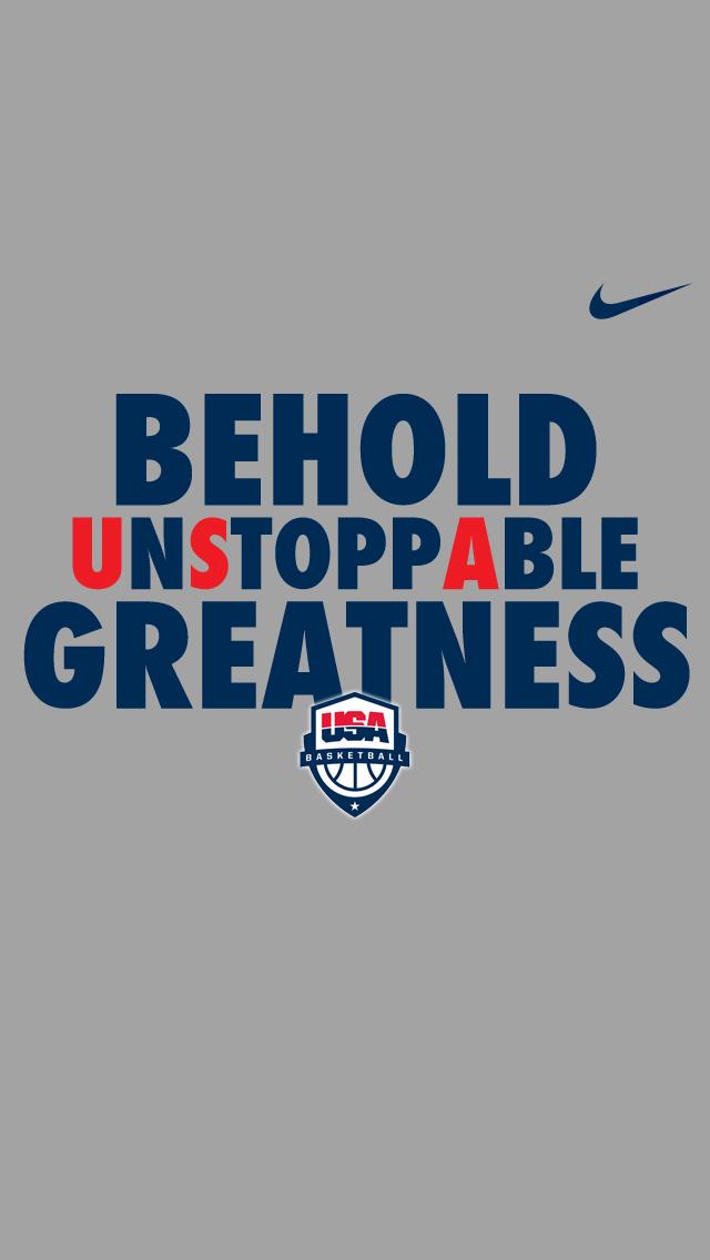 USA Nike iPhone 5 Wallpaper 640x1136 640x1136