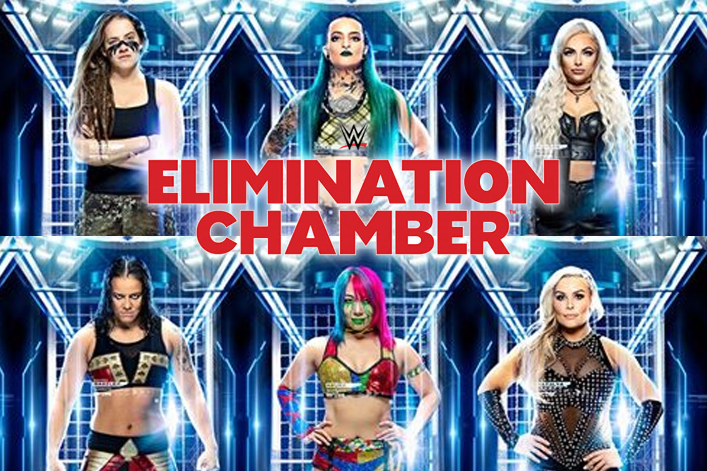 WWE Elimination Chamber 2020 Start Time and How to Watch Online 1400x933
