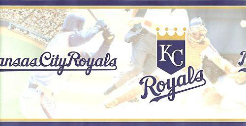 Kansas City Royals MLB Wallpaper Border eBay 500x257