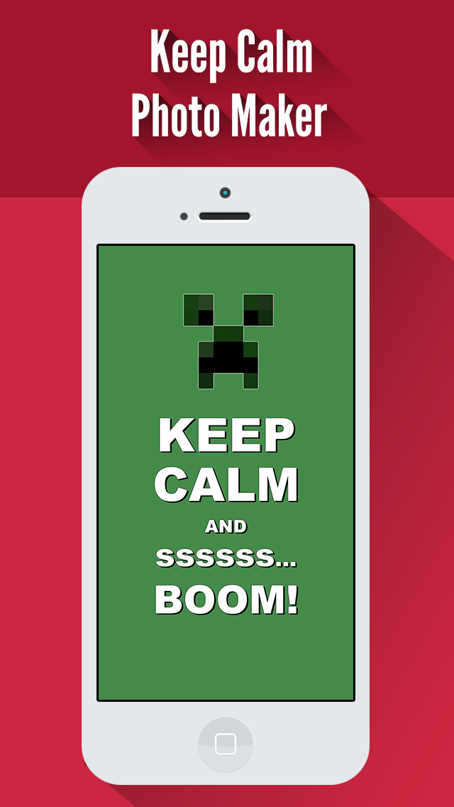 App Shopper Keep Calm Wallpapers Create Your Own Funny Posters 640x1136