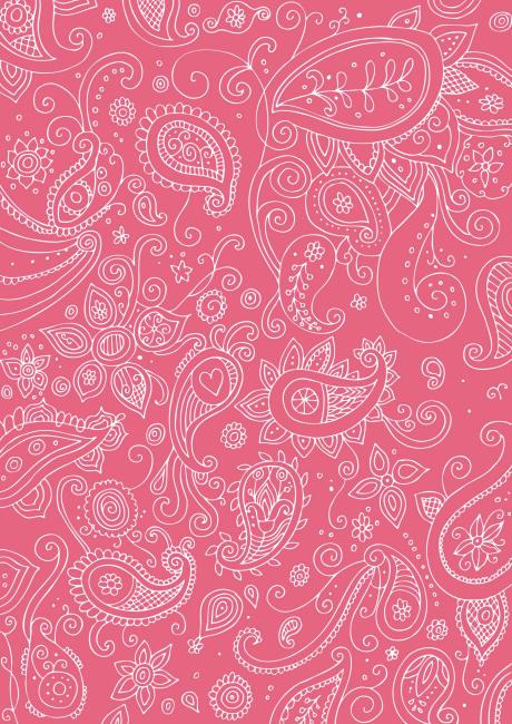 hot pink paisley background - photo #16