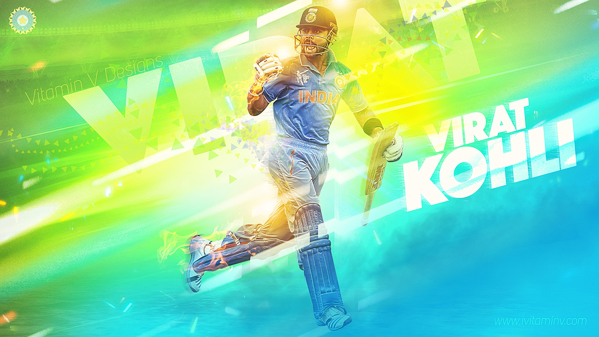 Cricketology   Indian Cricket Team Wallpapers on Behance 1200x675