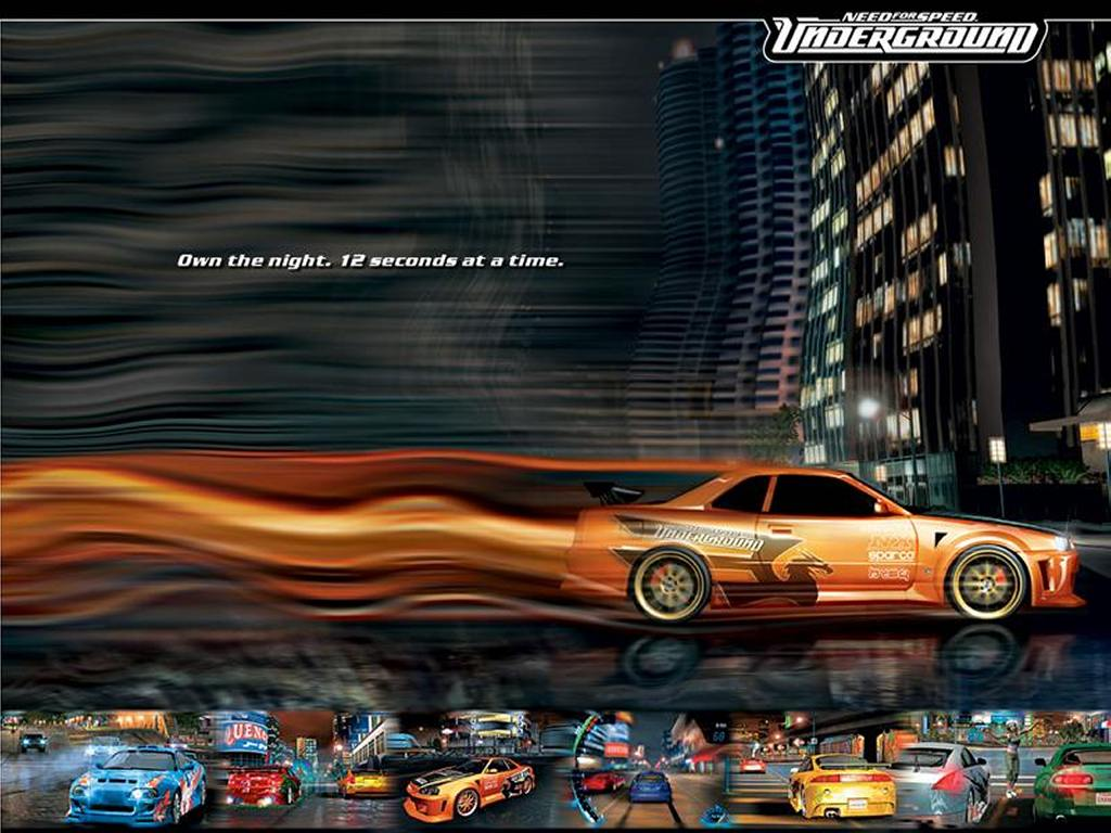 My Wallpapers   Games Wallpaper Need For Speed Underground 1024x768