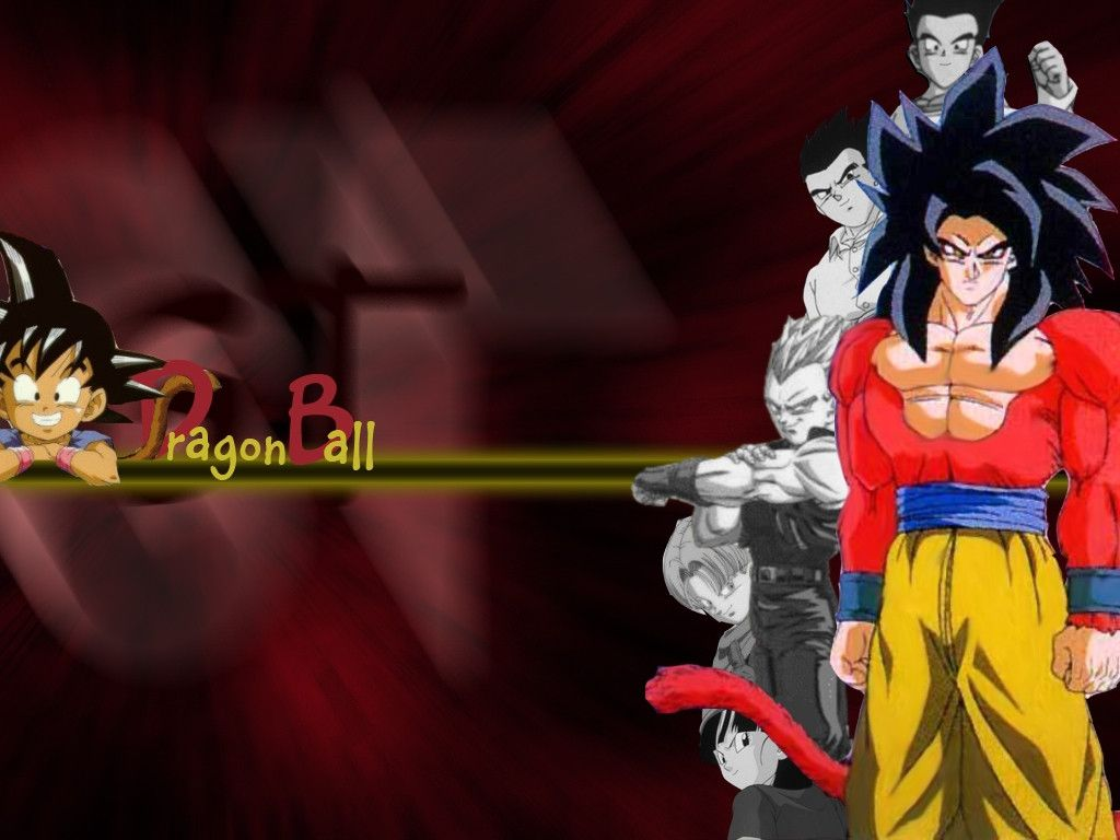 Dragonball Gt Wallpapers 1024x768