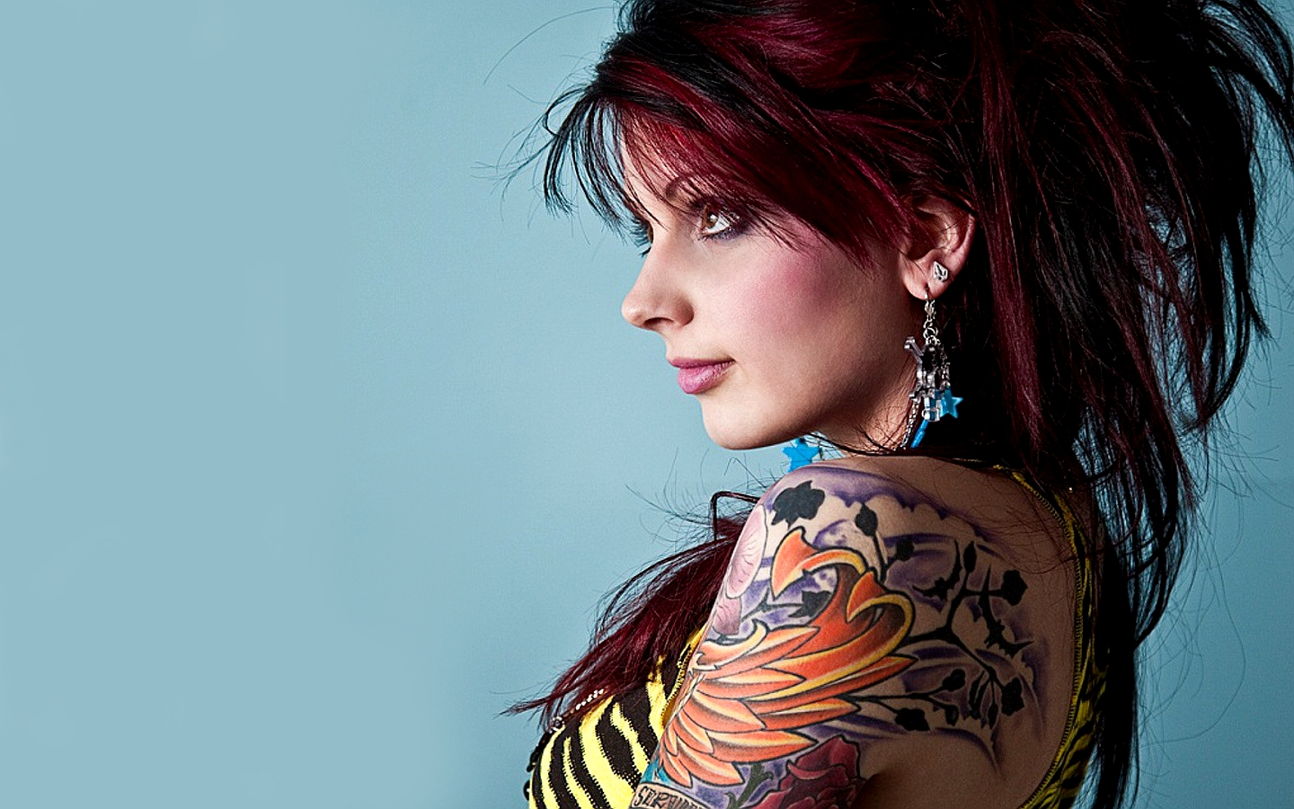Tattooed Women Wallpaper 1440x900