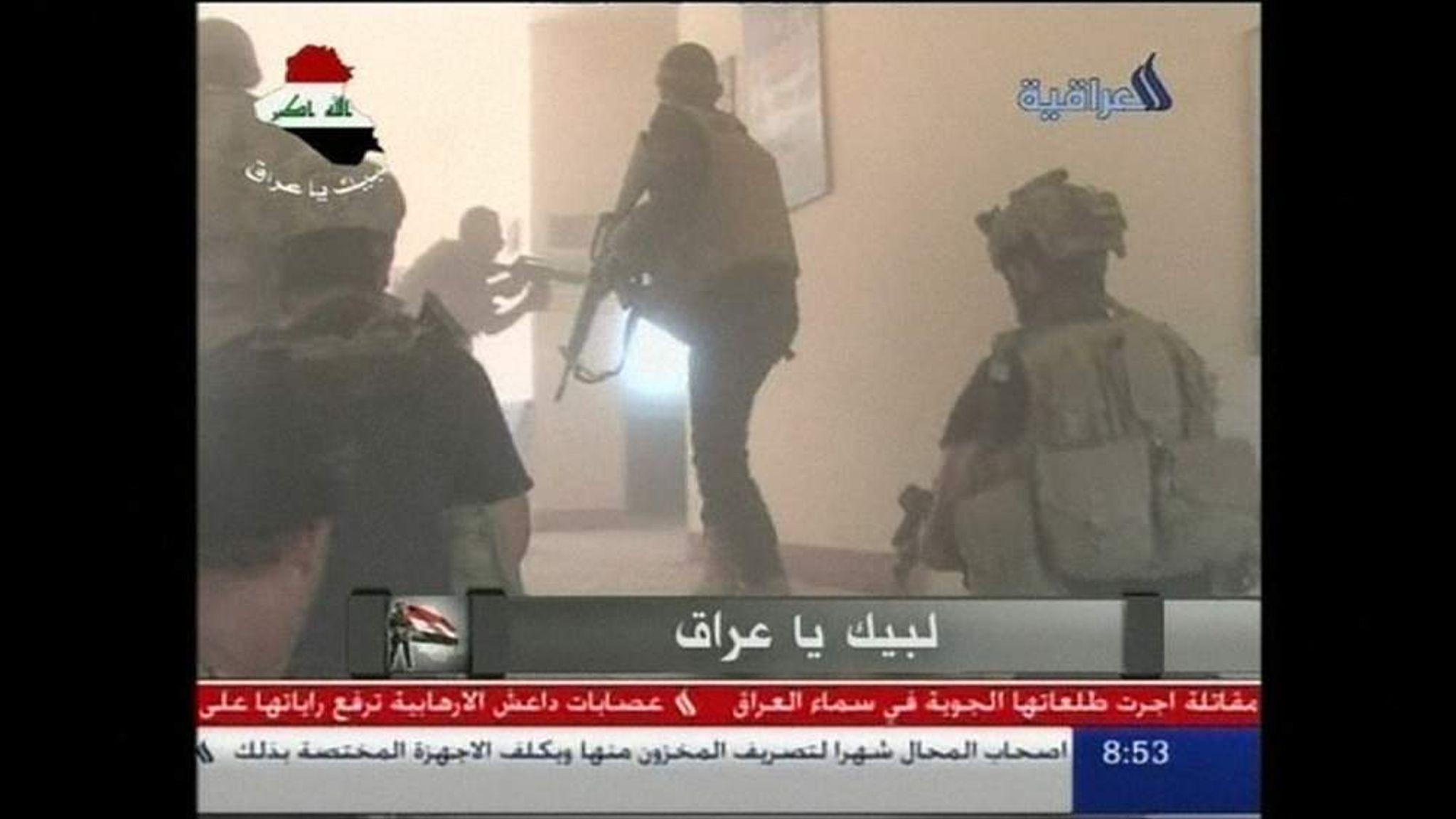 Iraq First Images Show Battle To Retake Tikrit World News Sky 2048x1152