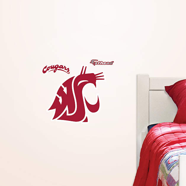 Cougars Teammate Decal Shop Fathead for Washington State Cougars 628x628
