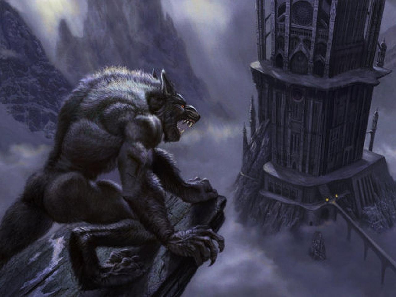 Dark Werewolf Wallpaper 1280x961 Dark Werewolf 1280x961