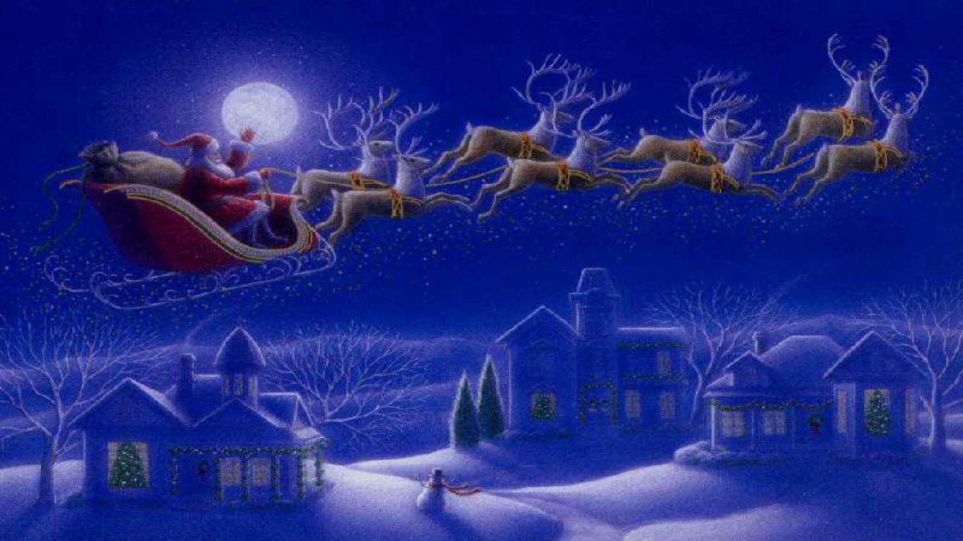 Download Christmas Desktop Wallpaper 50   Wallpaper 1366x768