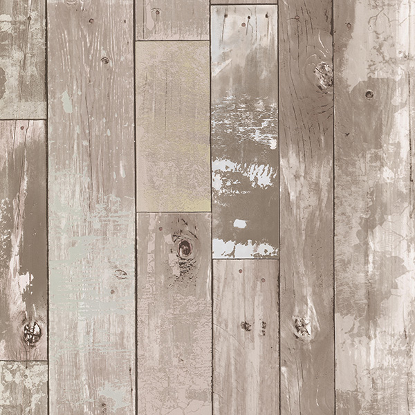 look is this scrapwood wallpaper by Wallpaper from the Seventies 600x600