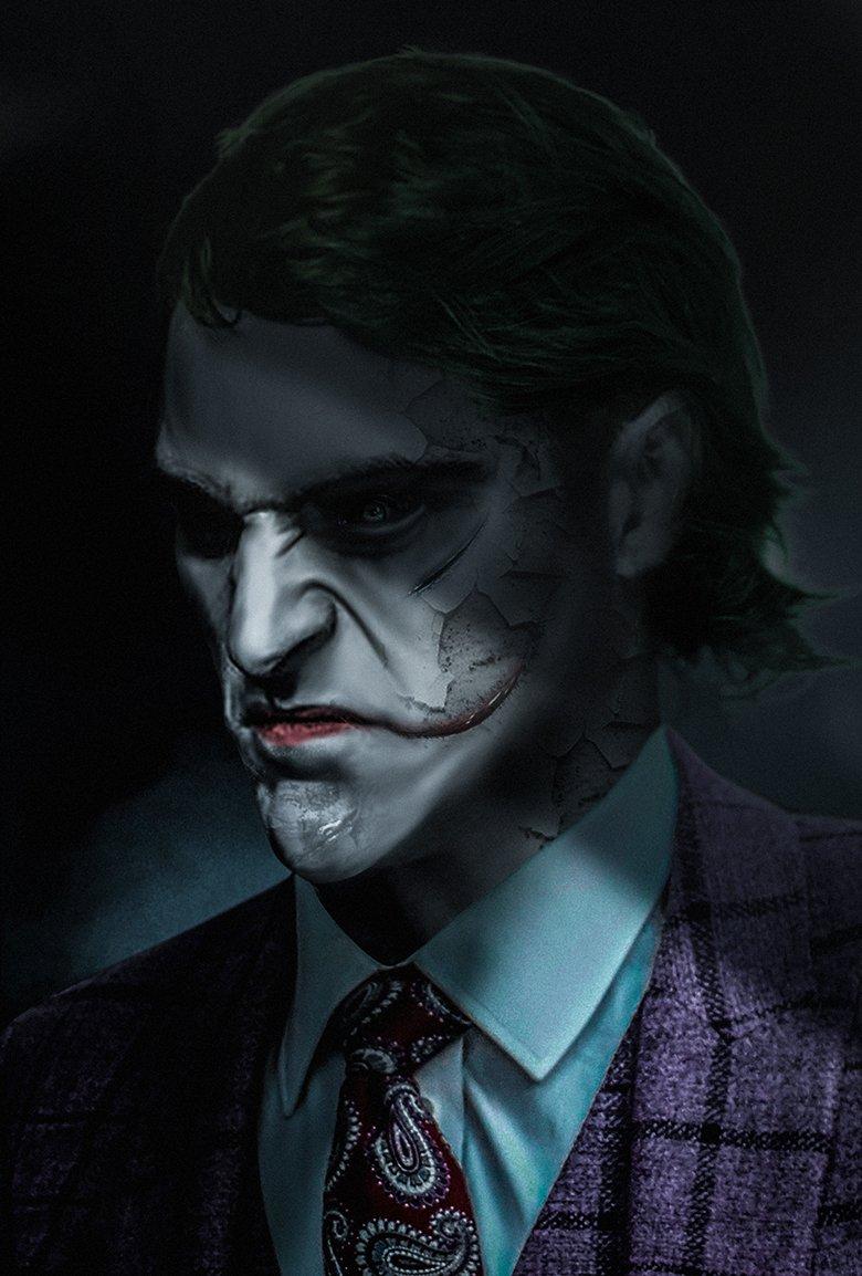 Joker 2019 images Joaquin Phoenix as The Joker   Fan Art by 780x1154