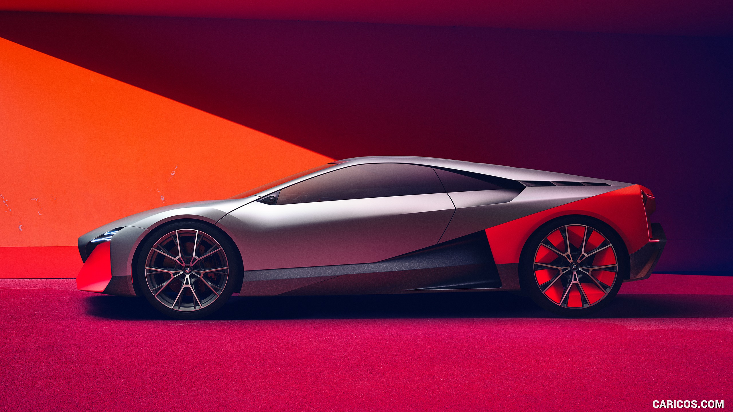 2019 BMW Vision M Next   Side HD Wallpaper 8 2560x1440