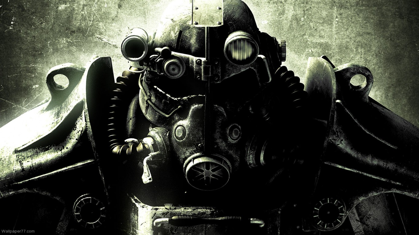 Wallpaper 1 fallout 3 wallpapers game wallpapers 1366x768jpg 1366x768